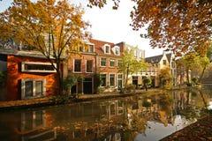 De herfst in Holland Stock Foto's