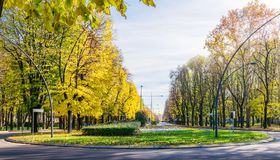 De herfst in Italië Stock Fotografie