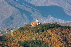De herfst in Italië Royalty-vrije Stock Fotografie
