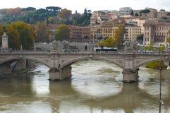 De herfst in Italië Straten van Rome Oude Stad Architectuur, royalty-vrije stock afbeeldingen