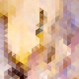 De herfst kleurrijke die achtergrond van driehoeken wordt gemaakt. Royalty-vrije Stock Afbeeldingen