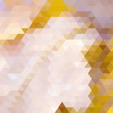 De herfst kleurrijke die achtergrond van driehoeken wordt gemaakt. Royalty-vrije Stock Fotografie