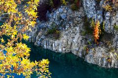 De herfst in Krakau royalty-vrije stock afbeelding