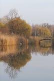De herfst lake3 Royalty-vrije Stock Afbeelding