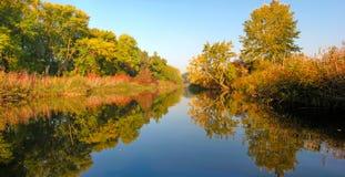 de herfst landschap Stock Foto's