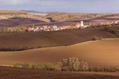 De herfst in Moravië royalty-vrije stock foto