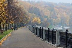 De herfst in Moskou Royalty-vrije Stock Fotografie