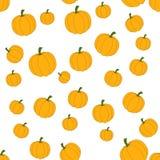 De herfst naadloos patroon in vector stock illustratie