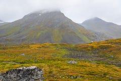 De herfst in Noorwegen Royalty-vrije Stock Afbeeldingen