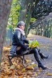 De herfst ontspant Stock Afbeeldingen