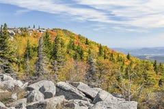 De herfst op de Allegheny-Voorzijde stock foto's