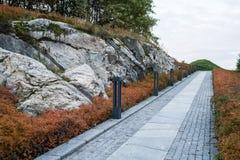 De herfst in Oslo Stock Afbeeldingen