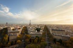 De herfst in Parijs Royalty-vrije Stock Fotografie