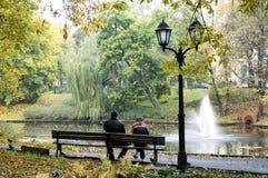 De herfst, park Royalty-vrije Stock Foto's