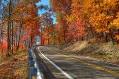 De herfst in Pennsylvania Royalty-vrije Stock Afbeelding