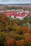 De herfst Praag Stock Foto