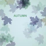 De herfst seizoengebonden achtergrond Royalty-vrije Stock Fotografie