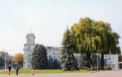 De herfst in de stad Royalty-vrije Stock Afbeelding