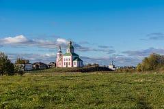 De herfst in Suzdal Stock Fotografie