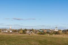 De herfst in Suzdal Stock Afbeeldingen