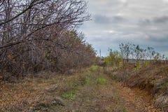 De herfst in de Tavri-steppe Royalty-vrije Stock Foto's