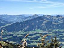 De herfst in Tirol (Oostenrijk) Royalty-vrije Stock Foto's