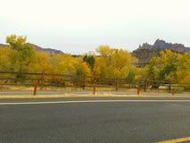De herfst in Utah Royalty-vrije Stock Foto