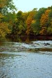 De Herfst van Connecticut Stock Afbeeldingen