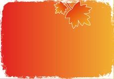 De herfst van Grunge Stock Foto