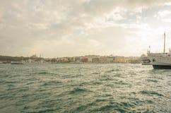 De herfst van Istanboel stock afbeeldingen