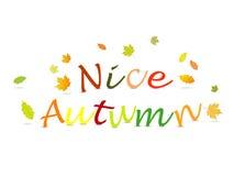 De herfst van Nice Royalty-vrije Stock Foto