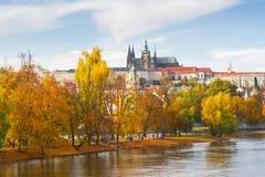De herfst van Praag royalty-vrije stock afbeelding