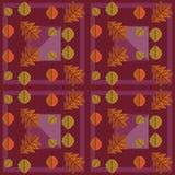 De herfst veelkleurig geometrisch patroon Royalty-vrije Stock Fotografie