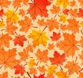 De herfst verlaat naadloos patroon