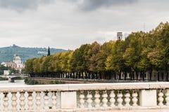 De herfst in Verona, Italië Stock Afbeelding