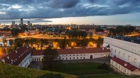 De herfst in Vilnius, Litouwen Royalty-vrije Stock Fotografie