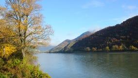 De herfst in Wachau no.1 Royalty-vrije Stock Foto's