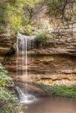 de herfst waterval Stock Fotografie