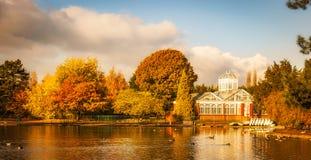 De herfst in Wolverhampton stock afbeeldingen