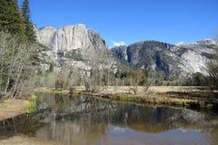 De herfst in Yosemite Californië Royalty-vrije Stock Fotografie