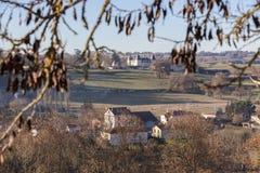 De herfst in zuidelijk Frankrijk Royalty-vrije Stock Afbeeldingen