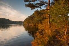 De herfst in Zweden Stock Afbeelding