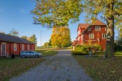 De herfst in Zweden Royalty-vrije Stock Foto