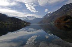 De herfst in Zwitserland royalty-vrije stock afbeelding