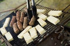 De herfstbarbecue Royalty-vrije Stock Afbeeldingen