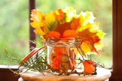 De herfstdecoratie Stock Foto