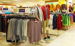 De herfstkleding voor mensen Royalty-vrije Stock Foto's