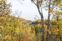 De herfstkleuren Royalty-vrije Stock Fotografie