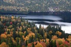 De herfstlandschap in Canada Royalty-vrije Stock Afbeelding