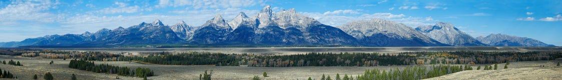 De herfstlandschap in Yellowstone Royalty-vrije Stock Afbeeldingen